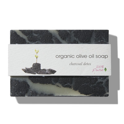 100% Pure Charcoal Detox Olive Oil Soap