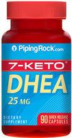 Piping Rock 7-Keto DHEA 25mg 90 Capsules