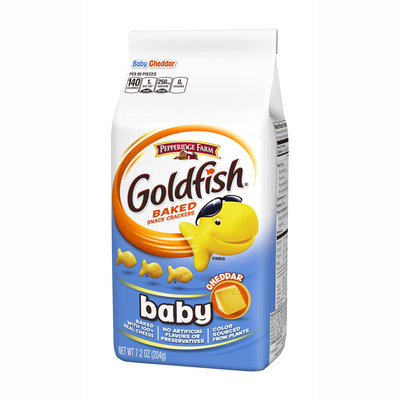Goldfish® Baked Baby Cheddar