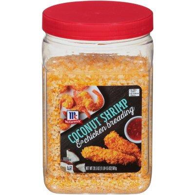 McCormick® Coconut Shrimp & Chicken Breading