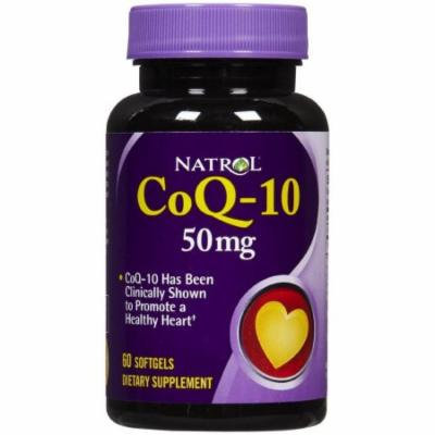 Natrol Coenzyme Q-10 50mg, 60 CT