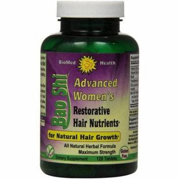 Biomed Health Bao Shi Advanced Women's Restorative Hair Nutrient Caplets, 120 CT