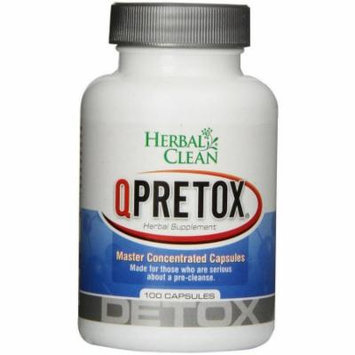 Herbal Clean Qpretox Master Concentrated, 100 CT