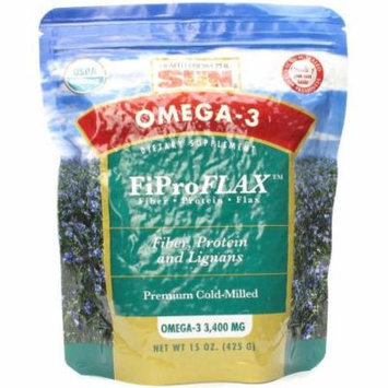 Health From The Sun Fiproflax with Omega-3, 15 FL OZ