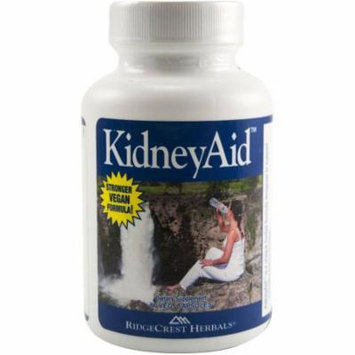 Ridgecrest Herbals Kidneyaid, Herbal Cleanse and Support Capsules, 60 CT