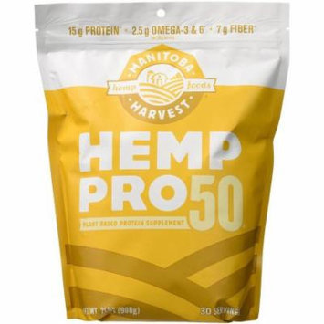 Manitoba Harvest Hemp Pro 50, Plant Based Protein Supplement, 32 OZ