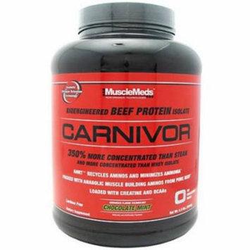Muscle Meds Carnivor, Chocolate Mint, 4.5 LB