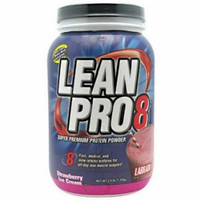Labrada Nutrition Lean Pro8, Strawberry Ice Cream, 2.9 LB