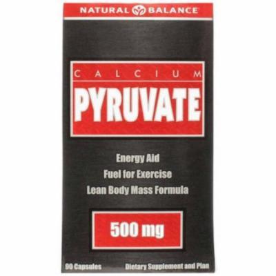 Natural Balance Calcium Pyruvate Capsules, 90 CT