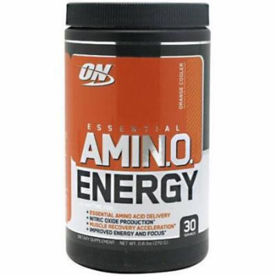 Optimum Nutrition Essential Amino Energy, Orange Cooler, 30 SRV