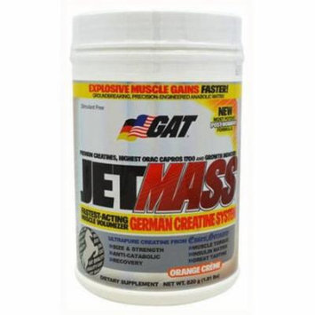 GAT Gat JetMass, Orange Creame, 1.83 LB