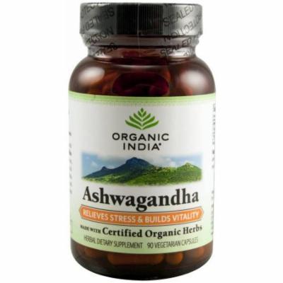Organic India Ashwagandha Formula, 90 CT