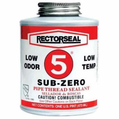 Rectorseal 622-27651 No. 5 0. 5 Poin Sub-Zero Thread Sealant Brush Top C