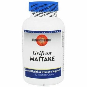Mushroom Wisdom Grifron Maitake, Supports Overall Health and Immune System, 120 CT
