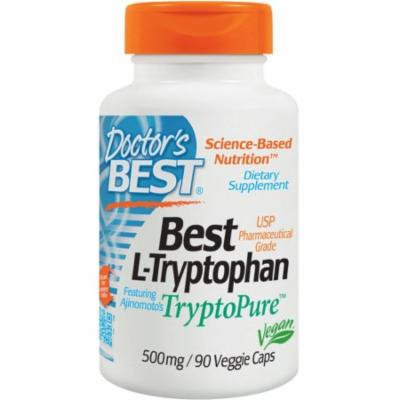 Doctor's Best L-Tryptophan 500 mg, 90 CT