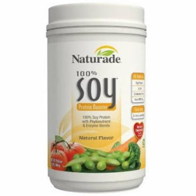 Naturade 100% Soy Protein Natural Booster, 29.6 OZ