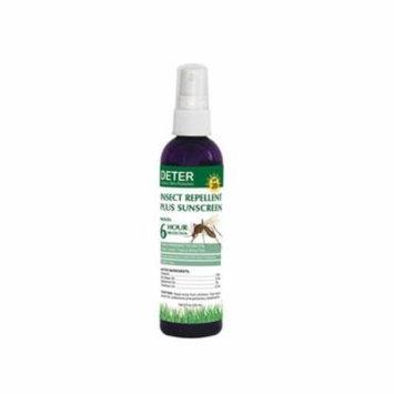 Deter D004-1864 Deter Insect Repellent Plus SPF 20 Sunscreen, 4 oz.