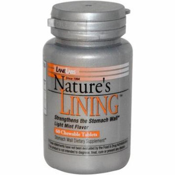 Lane Labs Nature's Lining Chewable Tablets, 60 CT