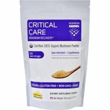 Mushroom Matrix Critical Care Drink Power Mix, Organic, 3.57 OZ