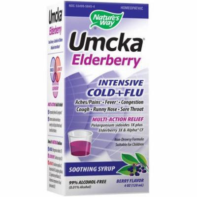 Nature's Way Branded Phytomedicines Umcka Elderberry Intensive Syrup, 4 OZ