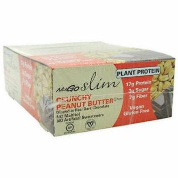 NuGo Nutrition NuGo Slim, Crunchy Peanut Butter, 12 CT