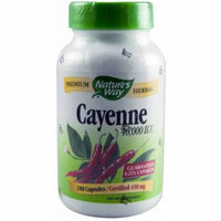 Nature's Way Cayenne 450 mg, Capsules, 180 CT