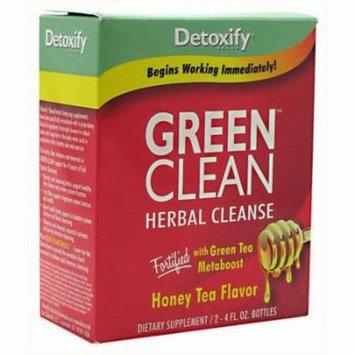 Detoxify Green Clean, Honey Tea, 2 CT