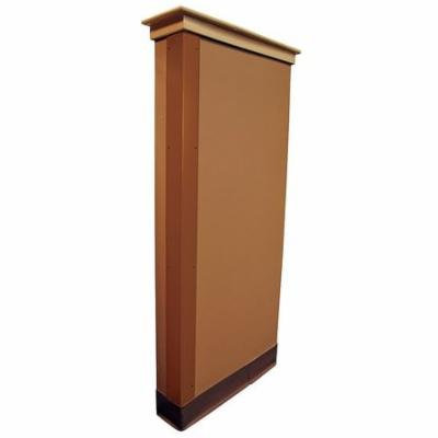 5KZR3 Corner Guard, Bronze, 1x48in, Hardware FR