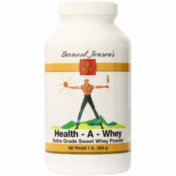 Bernard Jensens Healthy-A-Whey Extra Grade Sweet Whey Powder, 16 OZ