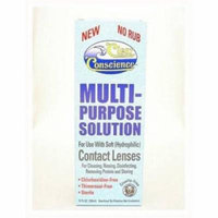 Clear Conscience Multi Purpose Solution For Soft Contact Lenses, 12 OZ