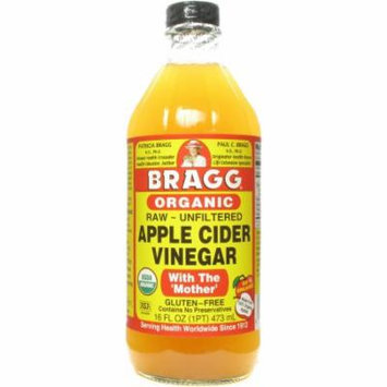 Bragg Apple Cider Vinegar, 16 FL OZ (Pack of 12)