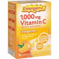 Emergen-C Tangerine, 10 CT (Pack of 2)