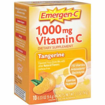 Emergen-C Tangerine, 10 CT (Pack of 2)