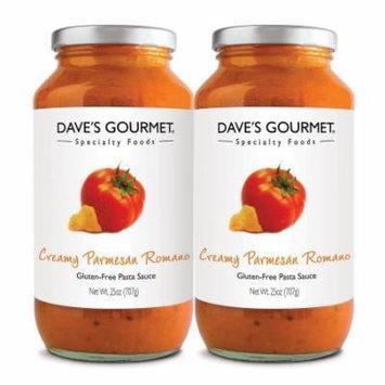 Dave's Gourmet Creamy Parmesan Romano Pasta Sauce (25 oz. jar, 2 pk.)