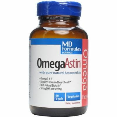 Nutrex Hawaii Omegaastin with Pure Natural Astaxanthin Vegetarian Softgels, 60 CT