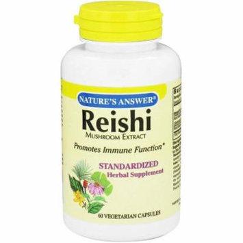 Nature's Answer Reishi Mushroom Standardized, 60 CT