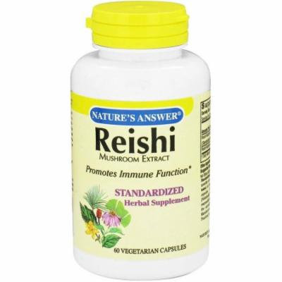 Nature's Answer Reishi Mushroom Standardized, 60 CT
