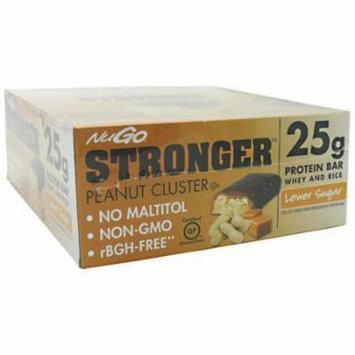 NuGo Nutrition NuGo Stronger, Peanut Cluster, 12 CT