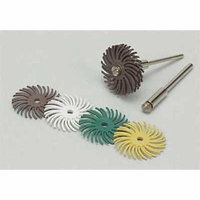 3M 27610 Radial Bristle Disc, TC, 1 In Dia, 36G, PK96