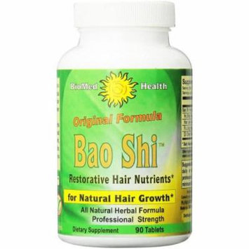 Biomed Health Bao Shi Restorative Hair Nutrient Capsules, 90 CT