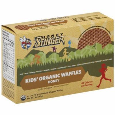 Honey Stinger Kids Organic Stinger Waffle, 6 CT (Pack of 12)