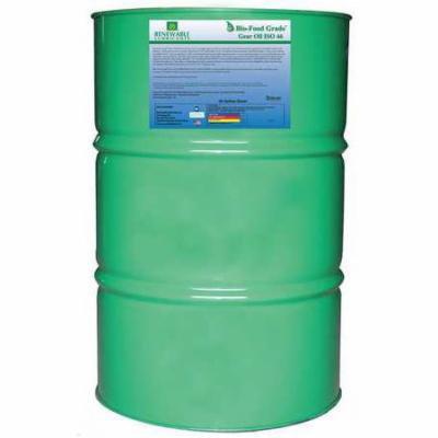 RENEWABLE LUBRICANTS 87216 Food Grade Gear Oil,55 Gal G9927881