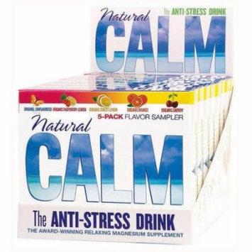 Natural Vitality Calm Counter Display - Assorted Flavors, 5 CT (Pack of 8)