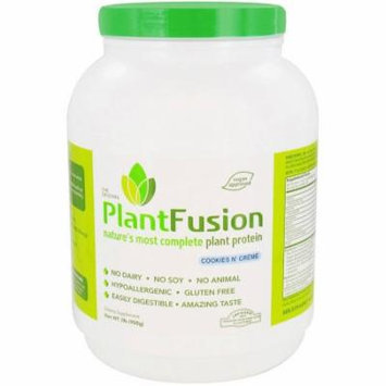 Plantfusion Diet Supplement, Cookies N Cream, 2 LB