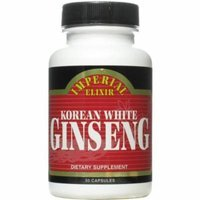 Imperial Elixir Korean White Ginseng, 50 CT