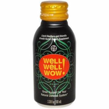 Sun Chlorella Well Well Wow Organic, 3.38 FL OZ (Pack of 10)