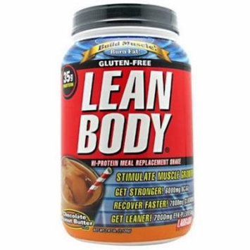 Labrada Nutrition Lean Body, Chocolate Peanut Butter, 2.47 LB