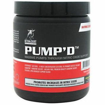 Betancourt Nutrition Pump'd, Citrus Punch, 210 GM