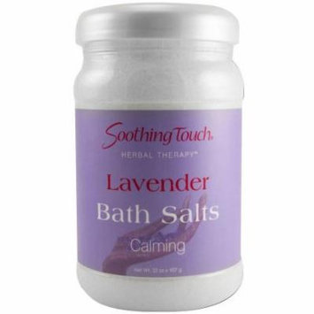 Soothing Touch Lavender Bath Salts, 32 OZ