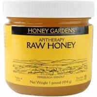 Honey Gardens Raw Honey, 1 LB (Pack of 4)